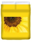 Seattle Sunflower Close-up Duvet Cover