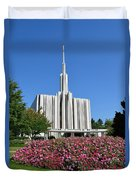 Seattle Temple Duvet Cover