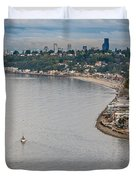 Seattle Waterfront 3 Duvet Cover