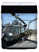 Seawolves Uh-1 Duvet Cover