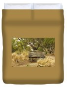 Secluded Bench Duvet Cover