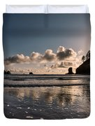 Second Beach Light And Current Duvet Cover