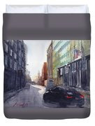 Second City Hustle Duvet Cover