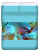 Secret Garden - Abstract Art Duvet Cover