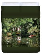 Secret Retreat - River Reflections Duvet Cover