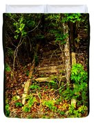 Secret Stairway Duvet Cover
