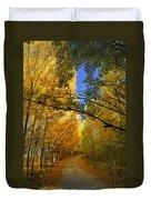 Autumn Secrets Duvet Cover
