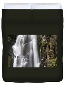 Section Of The Falls Duvet Cover
