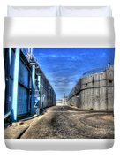 Security Wall Duvet Cover