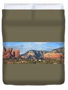 Sedona Arizona Panoramic Duvet Cover