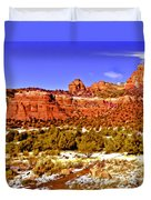 Sedona Arizona Secret Mountain Wilderness Duvet Cover