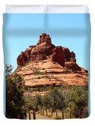 Sedona Bell Rock Duvet Cover
