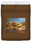 Sedona Cathedral Rock Duvet Cover