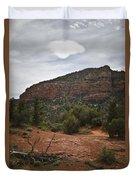 Sedona Landscape No. 2 Duvet Cover by David Gordon