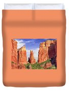 Sedona Red Rock Cathedral Rock State Park Duvet Cover
