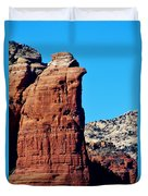 Sedona Rock Formation 030515a Duvet Cover
