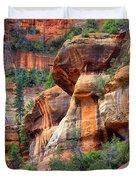 Sedona Stripes Duvet Cover by Carol Groenen