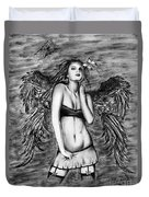 Seductive Angel  Duvet Cover