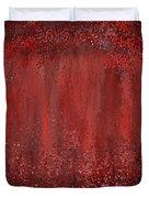 Seductive Embrace- Marsala Art Duvet Cover
