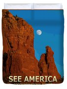 See America - Coconino National Forest Duvet Cover