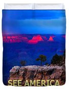 See America - Grand Canyon National Park Duvet Cover