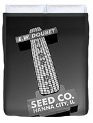 Seed Company Sign 1.1 Duvet Cover