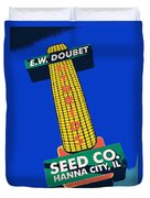 Seed Company Sign 1.3 Duvet Cover