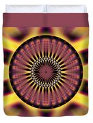 Seed Of Life Kaleidoscope Duvet Cover
