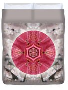 Seeds Of Transformation Duvet Cover