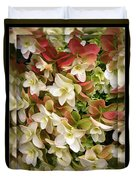 Seeing Double - Hydrangeas Duvet Cover