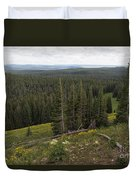 Seeing Forever - Yellowstone Duvet Cover