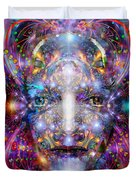 Seeing In A Sacred Manner Duvet Cover
