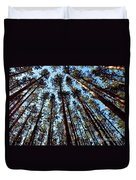 Seeing The Forest Through The Trees Duvet Cover