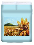 Seeing The Sun Duvet Cover