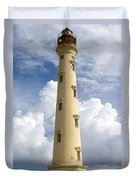 Seeing Through The Clouds Duvet Cover