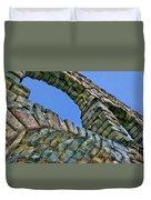 Segovia Aqueduct Arch By Diana Sainz Duvet Cover