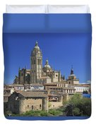 Segovia Spain Duvet Cover