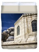 Sehzade Mosque Istanbul Duvet Cover