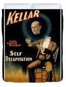 Self Decapitation Duvet Cover