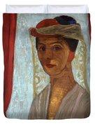 Self Portrait, 1906-7 Duvet Cover