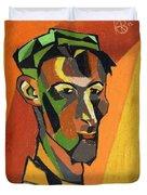 Self Portrait, 1913 Duvet Cover