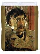 Self Portrait, C.1865 Panel Duvet Cover