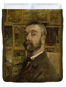 Self Portrait, C.1884 Duvet Cover