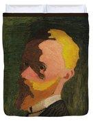 Self Portrait Duvet Cover by Edouard Vuillard