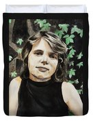 Self-portrait Duvet Cover