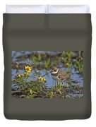 Semi-palmated Plover Pictures 44 Duvet Cover