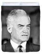 Senator Barry Goldwater Duvet Cover