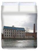 Seneca Falls Knitting Mill Duvet Cover