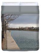 Seneca Falls Marina Duvet Cover
