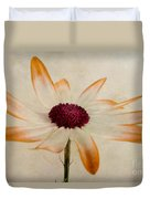 Senetti Pericallis Orange Tip Duvet Cover